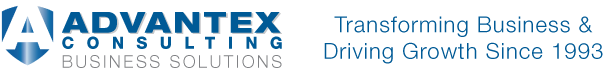 Advantex Consulting Logo by Blue Pixel